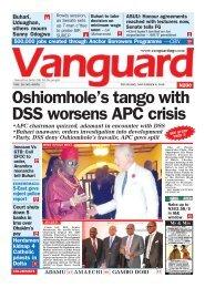 08112018 - Oshiomhole's tango with DSS worsens APC crisis