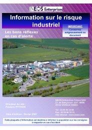 Information sur le risque industriel - Verdun