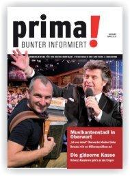 prima! Magazin - Ausgabe April 2015