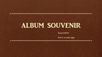 ALBUM SOUVENIR