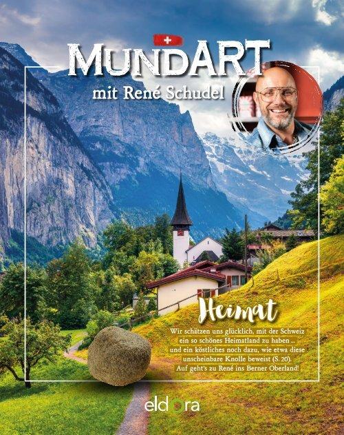 MundART mit René Schudel im Herbst 2018