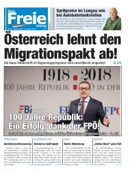 Österreich lehnt den Migrationspakt ab