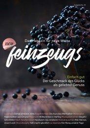 Feinzeugs – das Magazin der Confiserie Lauenstein und weiteren Partnern