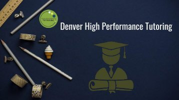 Denver High Performance Tutoring