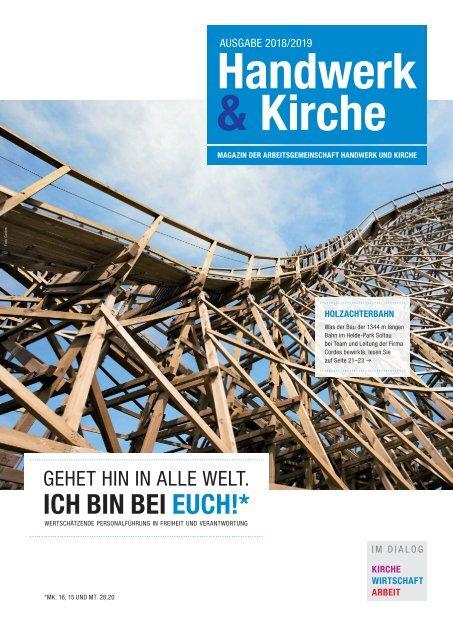 Magazin Handwerk und Kirche 2018/2019