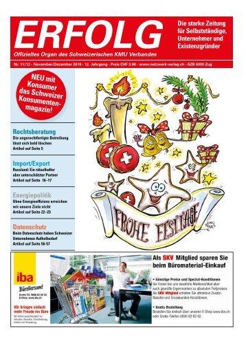 Erfolg_Ausgabe Nr. 11-12 - Nov/Dez 2018