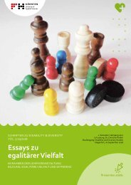 Essays zu  egalitärer Vielfalt