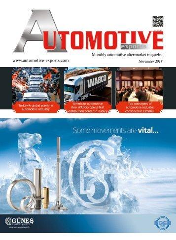Automotive Export November2018