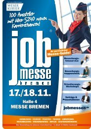Der Messe-Guide zur 13. jobmesse bremen