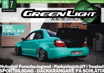 GreenLight Magazine nr 7  - 2018