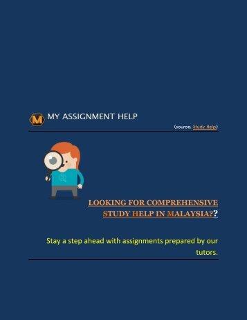 Study Help- MALAYSIA