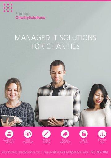 Premier Charity Solutions Brochure 2018