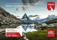 Swiss Coupon Pass 2019 DE