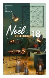 CATALOGUE TABLE PASSION NOEL 2018