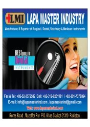 Dental instruments  Catalogue Top Quality Dental instruments, Surgical Instruments Highest Quality Manufacturers, Exporters Suppliers