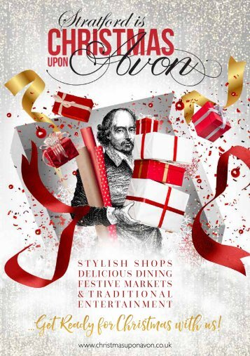 Stratford upon Avon Christmas Brochure 2018