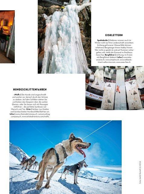 WALLIS Magazin - November 2018