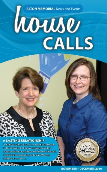 Women's Wellness Fair is Nov. 20; call 1-800-392 ... - BJC HealthCare