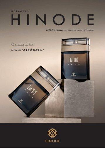 Catálogo Hinode Ciclo 3   2018 - Paula Fernanda