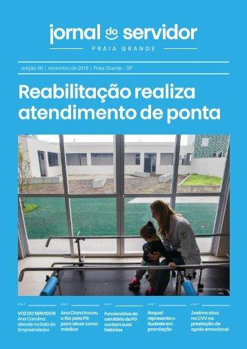 Jornal do Servidor - Praia Grande | Ed. 6 | Novembro 2018