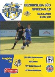20181110 Fuggermärktler TSV 1862 Babenhausen – VfB Durach