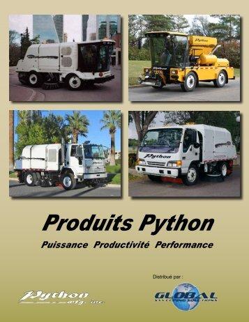 Produits Python - Python Manufacturing Inc.