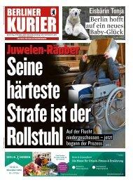 Berliner Kurier 08.11.2018