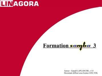 Formation Samba 3 - LINAGORA