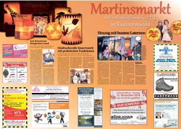 Martinsmarkt in Radevormwald  -09.11.2018-