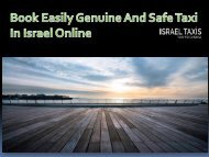Book Easily Genuine And Safe Taxi In Israel Online-converted