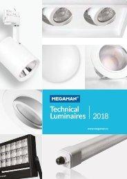 MEGAMAN Technical Luminaires 2018