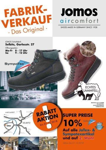 JOMOS Schuhfabrik - 10.11.2018