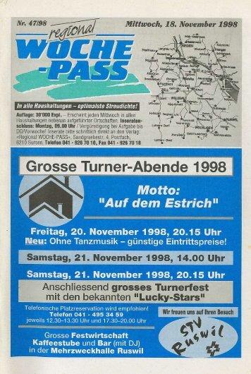 Woche-Pass   KW47   18. November 1998