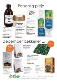 ANNIs VITAL SHOP NOVEMBER OFFERS_DK
