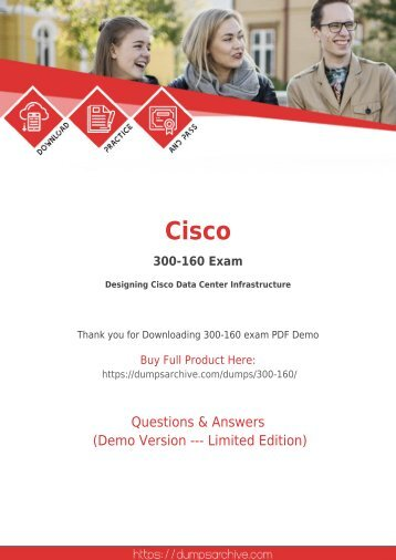 300-160 Dumps PDF - 100% Valid Cisco 300-160 Exam Dumps
