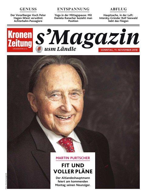 s'Magazin ums Ländle, 11. November 2018