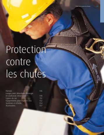 Protection contre les chutes - Linde Canada