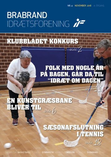 BRABRAND IF KLUBBLAD  NR. 4  //  2018