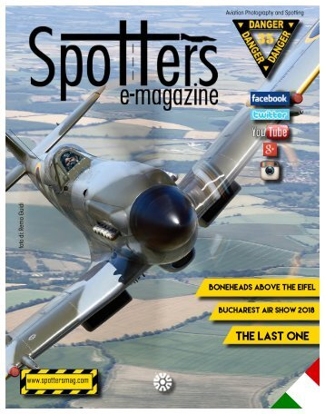 Spotters e-Magazine n°35 Aviation Photography and Spotting