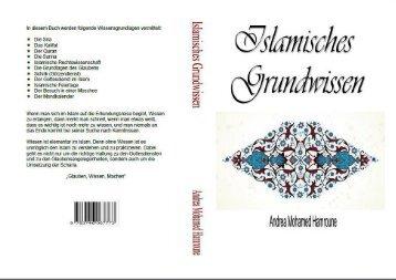 """Inhaltsverzeichnis """"Islamisches Grundwissen"""" von Andrea Mohamed Hamroune"""