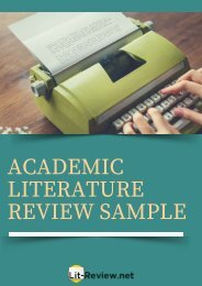 professional-sample-of-academic-literature-review