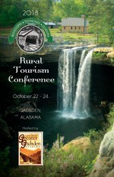 Rural Tourism Conference Program
