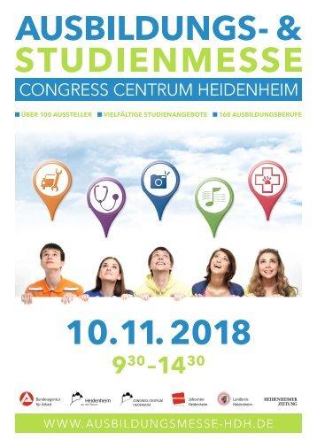 Ausbildungs- und Studienmesse 2018