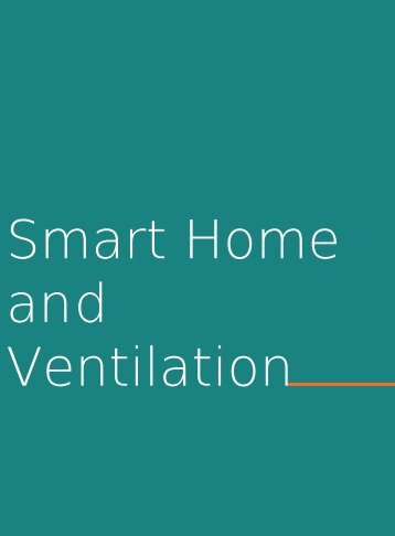 3. Smart Home and Ventilation
