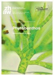 ZHAW - Institut für Umwelt und Natürliche Ressourcen - CAS Phytobenthos