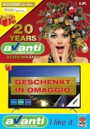 20 Years Avanti