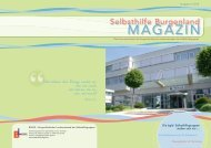 Selbsthilfe Burgenland Magazin 4