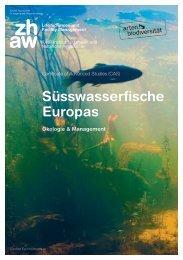ZHAW - IUNR Institut für Umwelt und Natürliche Ressourcen - CAS Süsswasserfische Europas