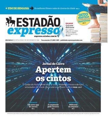 Estadão Expresso - Edição de 01.11.2018