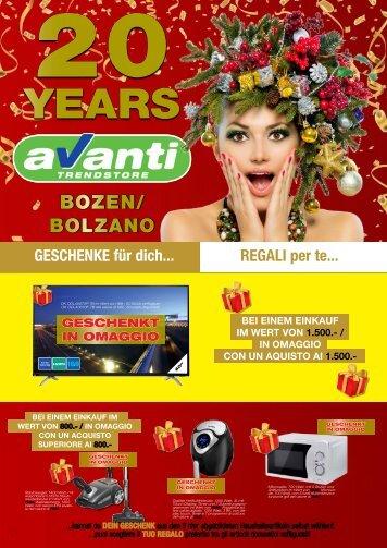 Titelseite 20 Jahre Avanti BZ für Website